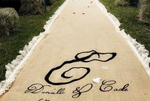 Aisle Runners / Beautiful Ceremony Decor