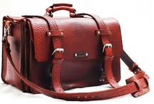 Leather bags by Sizzlestrapz / by SizzleStrapz