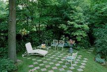 Tuinontwerp met gras / het toepassen van gras in een tuinontwerp