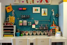 Art & sewing areas