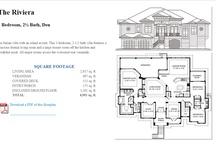 Piling/Beach Home Floor Plans