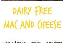 Dairy free vegan