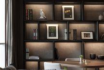 hall shelf