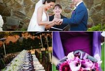 Purple & Blue Wedding Inspirations