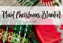 Christmas blanket (crocheted)