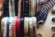 Studded belts / Vintage studded belts