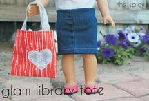Doll clothes & things to make / by Carrie @ Crafty Moms Share