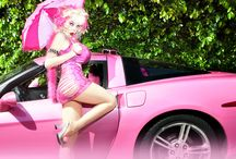 Angelyne Billboard Queen / Billboard Queen