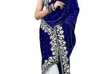 Net Saree