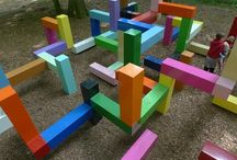Parques infantiles - outdoor play area