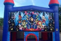 Themed Bouncy Castle / Don't be fooled this is not your average bouncy Castle. Atlantis Inflatables' Themed Bouncy Castle is a must have for any kids party or event!