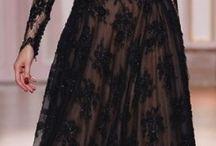 Čipkové Šaty čierne