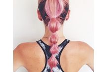 ★ COIFFURES DE SPORT ★ / Comment on se coiffe pour notre prochaine séance fitness?