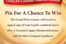 """Crazy for Caramel / My board for Werther's Original """"Crazy for Werther's Caramel"""" Pinterest contest + Werther's Original new Baking Caramels. #WerthersCaramel #Caramel"""