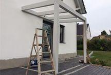 Vor Dach selber bauen