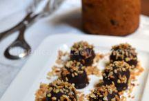 dolci tartufi,biscotti e cioccolatini