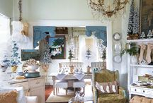LaurieAnna's Vintage Home / So gorgeous ! I love both the shop and home pictures.  I could look at them every day. / by Kristen Smith