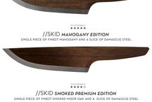 //SKID - The First Wooden Chef Knife