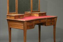 szecessziós bútorok