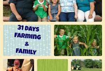 31 days Farming & Family / Farm Families featured on The Farm Wife blog (www.scfarmwife.com) during the #write31days series