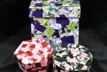 Japanese Washi Papers / This board provides ideas and pictures of projects using washi paper; also known as, chiyogami paper or yuzen paper.
