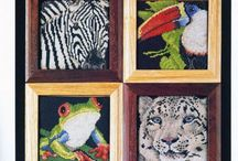 Animals: samplers, cards, series / x stitch