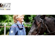 """About us / Wissenswertes über Trust-your-Horse und vor allem über den Themenkomplex """"Pferd - Mensch - Reiten""""."""