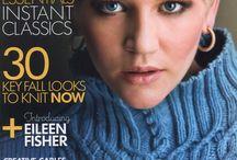 vogue knitting / patterns
