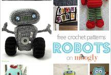 Crochet toys and amigurumi