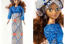 Ethnic / Black Fashion Dolls / A celebration of beautiful ethnic dolls.  #EthnicDollsMatterToo  #TheNewNorm