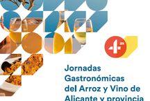 IV Edición de las JORNADAS GASTRONÓMICAS DEL ARROZ Y MARIDAJE CON VINO ALICANTINO / Del 1 al 31 de octubre. Campaña de promoción gastronómica en la que participan un total de 74 establecimientos de Alicante capital y diferentes poblaciones de la provincia, que ofrecerán a sus clientes menús especiales a partir de 24 euros, que constan de varios entrantes, plato principal de arroz y postre, elaborados con productos autóctonos y acompañados por vinos alicantinos elegidos especialmente para cada menú.