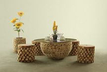 Wooden Living Set - Reclaimed Teak Living Set - Teak Wood Living Set