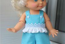 Кукла и её одежда / такую одежду можно сшить связать и одеть на девочек малышек