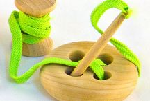 Handmade toddler learning toys / by Diana Selby