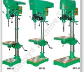 Drill Machines / While machining, repairing or making machine parts in a workshop one may require creating cylindrical holes on the solid materials. A drill machine is the apt machinery for the purpose. With an advanced drilling machine in your workshop you can very effectively carry out the hole making processes on metals and other solid materials with ease and much accuracy. Various other tasks like tapping, spot facing, reaming, counter sinking, counter boring can also be done with the help of drill machines.