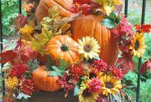 Jeseň dekor