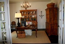 Work Space / Offices ANTIQUECHASE / by Marcy @ ANTIQUECHASE