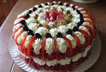 slané dort
