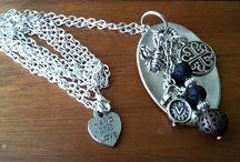 Le posate à porter - Il lato creativo / Spoon jewels - Gioielli artigianali - Riciclo creativo