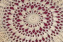 CROCHET LACE, DOILIES, ETC. / by Marylea Scott
