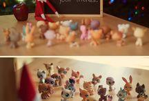 Elf on a shelf ideas / by Angelina Crow