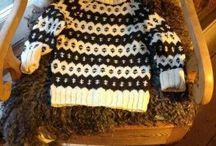 strikkede sweater