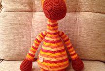 Háčkování_žirafa