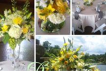 Gervasi Vineyard Weddings by Pam's Posies / #WeddingDay #FloralArrangements for our #Brides and #Grooms at #GervasiVineyard #OhioWeddings from your local #DoverFlorist and #AkronFlorist