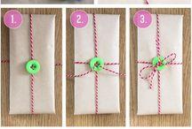 Pakerointi, Gift wraps