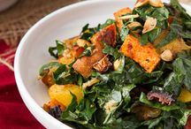 Healthy salads / Main dish or side, here are plenty of recipes to incorporate more veggies into your diet!