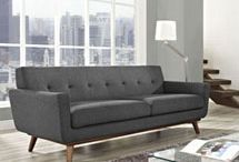 Engage Mid Century Sofas *** HOT SELLER *** / The sites and scenes of LexMod.com's most popular mid century style sofa series!