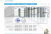 Projektscreens Brütting Gebäudereinigung GmbH