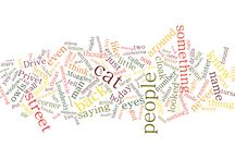Word Cloud Wednesday / Can you guess the book titles by these whole chapter word clouds?