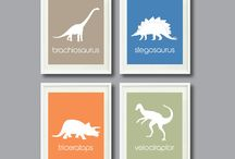 Boys dinasaur bedrooms